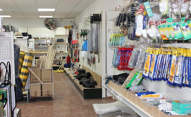 Vestuario y utensilios de trabajo